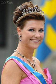 Princess Märtha Louise of Norway;
