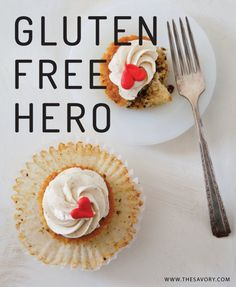 A GF dessert cookbook! Sweet Cravings: 50 Seductive Desserts for a Gluten-Free Lifestyle (and recipe for Persian Love Cakes w/ Cardamom Buttercream! Gf Recipes, Food Network Recipes, Gluten Free Recipes, Healthy Recipes, Gluten Free Cooking, Vegan Gluten Free, Dairy Free, Gluten Free Cupcakes, Gourmet