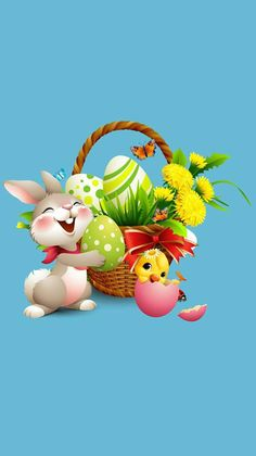 eastar wallpaper for android Easter Bunny Pictures, Bunny Images, Happy Easter Wallpaper, Bear Wallpaper, Easter Art, Easter Crafts, Bunny Painting, Easter Backgrounds, Easter Activities
