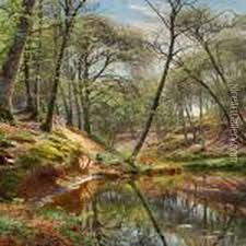 Image result for peder monsted paintings