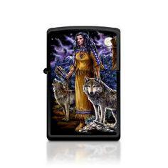 Zippo Lighter/ Moonlit Maiden