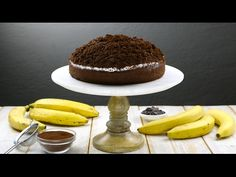 11 sweet banana recipes for the ultimate dessert Famous Desserts, Kinds Of Desserts, Ferrero Torte, Mint Chocolate Cheesecake, Yummy Treats, Yummy Food, Delicious Recipes, Cookie Recipes, Dessert Recipes
