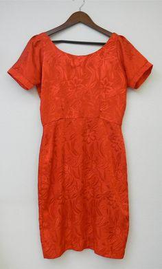 Vtg 1950 Vintage Dress 50s Metal Zipper by PinkCheetahVintage, $20.00