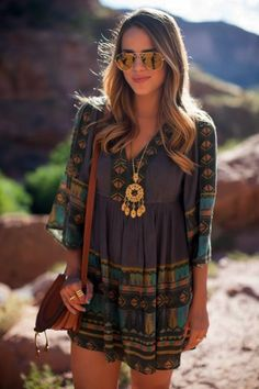 Inspirational Boho Style Outfits  The taste of Petrol and Porcelain (26)