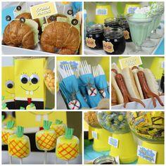 Celebrate SpongeBob: Throw a Bikini Bottom Bash | Fandango #partyideas #spongebob #fandango #movies