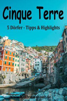 Planst du eine Reise in die Cinque Terre? Hier findest du alles wissenswerte über die farbenfrohe Küste in Italien. Schau mal rein damit du nichts verpasst!