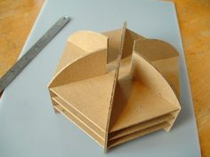 hexagonal building template that I may steal to make a table...