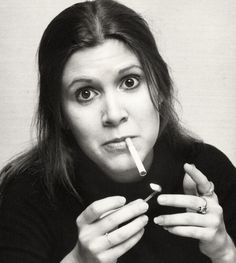 Carrie Fisher.  she's hilariousssss