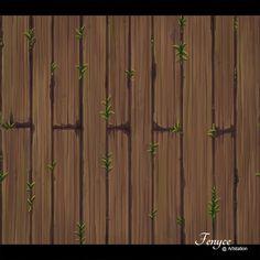 Wood Floor - Handpainted Texture Set, Bianca Tholen on ArtStation at https://www.artstation.com/artwork/Xbbbn