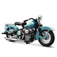 "Miniatura Moto Sons of Anarchy John Teller ""JT"" – 1946 Harley-Davidson FL Knucklehead - Maisto 1:18"