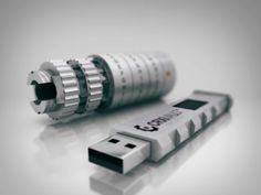 Crypteks USB - 256-bit AES Hardware Encryption.