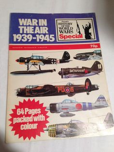 Aviation Magazine War In The Air 19391945 By by missenpieces, $7.25