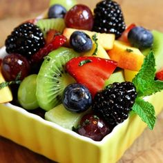 « Back to All Recipes  Fresh Fruit Salad With Lime Honey Dressing