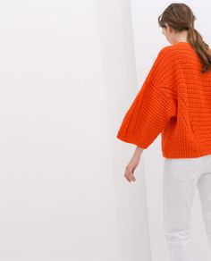 ZARA - KNIT SWEATER