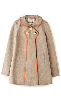 Wool peacoat (so my style) Estilo Retro, Kids Fashion, Womens Fashion, Look Chic, Mantel, Autumn Winter Fashion, Dress To Impress, Street Fashion, What To Wear