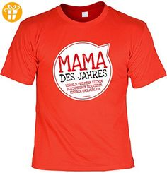 T-Shirt für Mama zum Geburtstag und Muttertag, Sprücheshirt - Mama des Jahres Vorbild Freundin Köchin Beschützerin Beraterin einfach unglaublich (*Partner-Link)