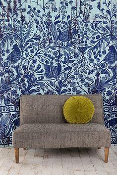 Tie-Dyed Bird Tapestry