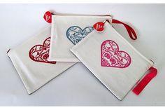 Printed Ipad Slip-HEART by Big Heart Company