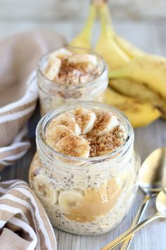 Brown Sugar Banana Overnight Oats                                                                                                                                                                                 Plus