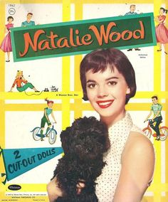 Natalie Wood paper dolls.