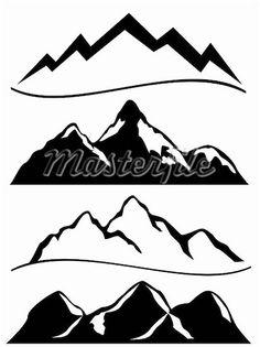 mountain-clipart-black-and-white-400-04855169w.jpg (412×550)