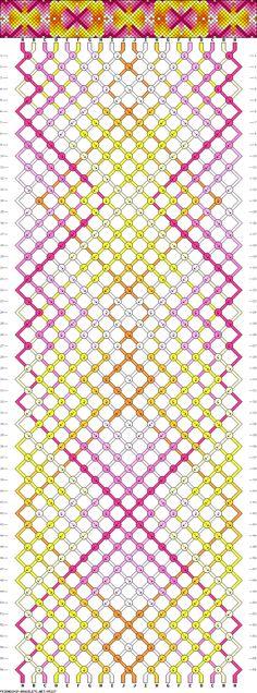 Muster # 85227, Streicher: 20 Zeilen: 56 Farben: 10