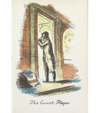 The Cornet Player From The Local, a series of lithographs depicting London pubs.