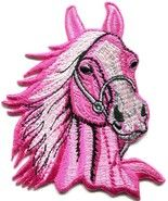 Pink Horse Pony Embroidered Iron Sew On Patch Equestrian Jacket Shirt Bag Badge Size cm Width and cm Height. How to Iron on a Patch Lay your cloth on a Sew On Patches, Iron On Patches, Bag Badges, Hogwarts Crest, Clothing Patches, Shirt Jacket, Shirt Bag, Iron On Transfer, Equestrian