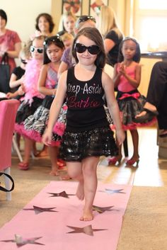 My busy life this week: modeling with @social_isa in a fashion show on Saturday. My catwalk skills may be rusty since 2005; this little girl would totally out-do me.