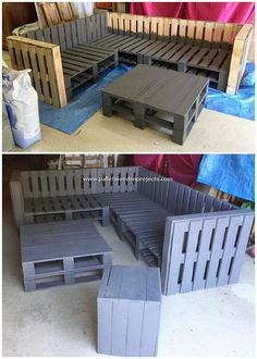 Wondrous Shipping Wooden Pallet DIY Projects Wondrous Shipping Wooden Pallet DIY Projects: Are you ready to seize up with some of the extraordinary and yet simple recycling wooden pallet ideas? Well among so many approaches. Wooden Pallet Table, Pallet Dining Table, Diy Outdoor Table, Wooden Pallet Projects, Wooden Pallets, Pallet Ideas, Pallet Lounge, Diy Pallet Sofa, Pallet Furniture