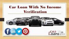 auto loan no income verification