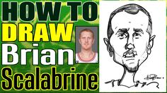 How To Draw A Quick Caricature Brian Scalabrine