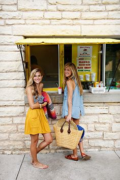 Besties | Claire Zinnecker and Kate Stafford Weaver | photos by Nicole Mlakar for Camille Styles