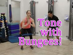 Tone with Bungees! Thighs & Glutes Exercises - YouTube