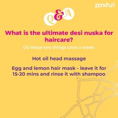 Hairfall keeping you up all night?  Here is a quick desi nuska that will help you reduce hair fall and your nightmares 😉  Read more about skin and hair care in our magazine- link in bio.  #askpankhuri #bridalstylist #haircare #hairgrowth #hairfallrescue #hair #homeremedies #desinuskhe #skincareregime #skincare #haircareregime #headmassage #haircaretips #ijsg12 #stayathomenbelazy #sbt4987 Lemon Hair, Reduce Hair Fall, Fall Hair, Hair Growth, Home Remedies, Read More, Desi, Massage, Hair Care
