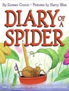 book list incl Diary of a Spider