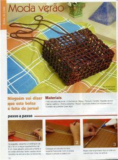 плетение из газет - Самое интересное в блогах
