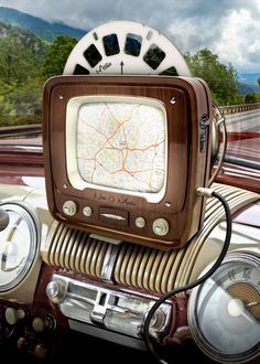 Trains, Teddy Bears and abandoned places – Frank Mueller – technologie Auto Design, Chevrolet Impala, Retro Cars, Vintage Cars, Vintage Space, Alter Computer, Trains, Dashboards, Dieselpunk