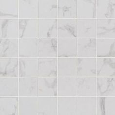 MSI Carrara White Hexagon in. x 12 in. x Honed Marble Mesh-Mounted Mosaic Tile sq. - The Home Depot Carrara, Honed Marble, Mosaic Wall Tiles, Marble Mosaic, Shower Backsplash, Pool Coping, Color Tile, Colour, Mosaic Patterns
