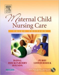Maternal Child Nursing Care 3rd edition Wong, Perry, Hockenberry, Lowdermilk, Wilson Test Bank $10.00  Download: Maternal Child Nursing Care 3rd edition Wong, Perry, Hockenberry, Lowdermilk, Wilson Test Bank Price: $10 Published: 2005 ISBN-10: 0323028659 ISBN-13: 978-0323028653
