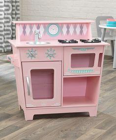 Look at this #zulilyfind! Pink Kitchenette Play Set by KidKraft #zulilyfinds