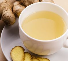Delicious Homemade Ginger Tea