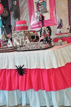 Monster High Birthday Party Boutique Festas
