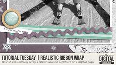 Realistic Ribbon Wrap Technique