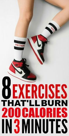 8 Three-Minute Exercises That'll Burn 200 Calories These are such good workout ideas! I'm so glad I found these amazing fitness ideas! Lose Weight In A Month, Losing Weight Tips, Weight Loss Tips, How To Lose Weight Fast, 200 Calories, Fun Workouts, At Home Workouts, Workout Ideas, Workout Plans