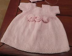 French Rosette Baby Dress pattern by Lucinda Segneri 30df1c915f