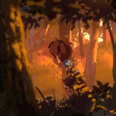 The Firefly Grove Backgrounds 1, Mathias Zamęcki on ArtStation at https://www.artstation.com/artwork/4nNb2