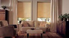 cortinas roller en ambientes rusticos - Buscar con Google