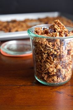 Cinnamon Bun Granola Recipe