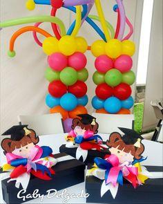 Kindergarten Graduation, Graduation Decorations, School, Diy, Ideas, Graduation Ideas, Party, Craft, Box